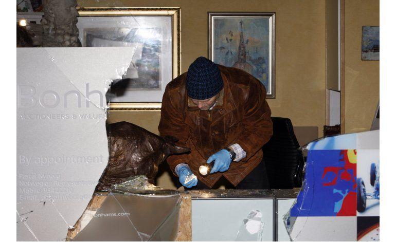 Noruega detiene a 2 vinculados a robo de obra de Munch