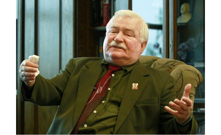 Walesa vuelve a negar que haya colaborado con los comunistas
