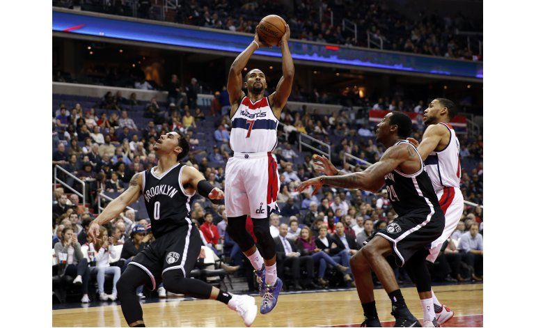 Sessions toma lugar de Wall en triunfo de Wizards sobre Nets