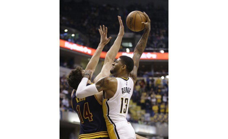 Sin James, Cavaliers caen 123-109 ante Pacers