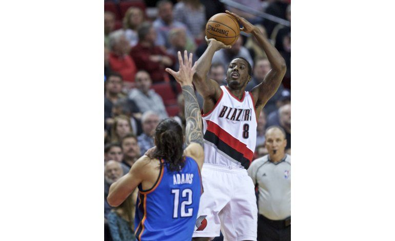 Trail Blazers logran billete a playoffs tras ganar a Thunder