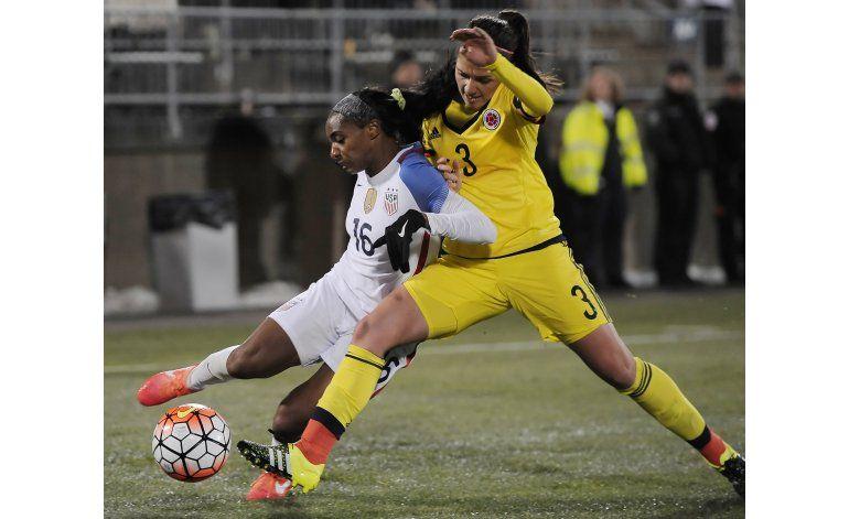 EEUU golea 7-0 a Colombia en mujeres
