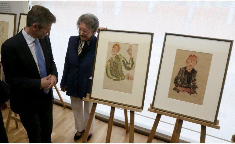 Museo austriaco regresa dos obras de Schiele a heredera