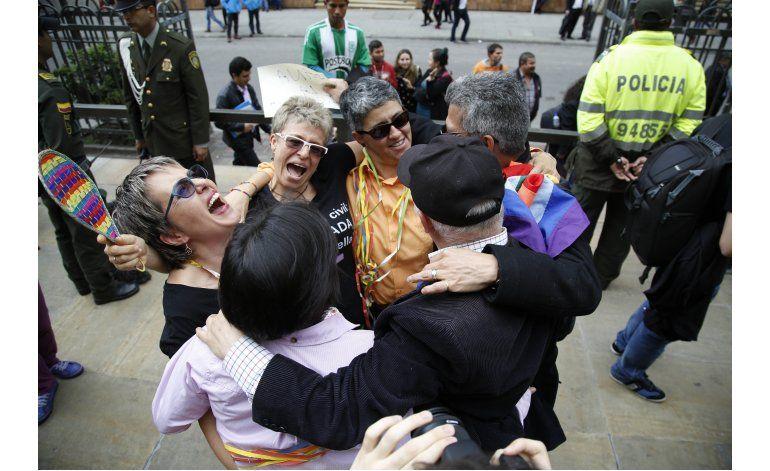 Colombia aprueba  matrimonio homosexual