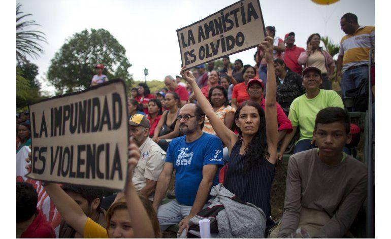 El presidente Maduro rechazó la ley de amnistía