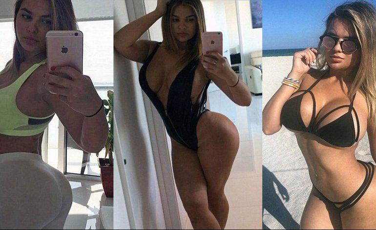 Fotos: la versión rusa de Kim Kardashian
