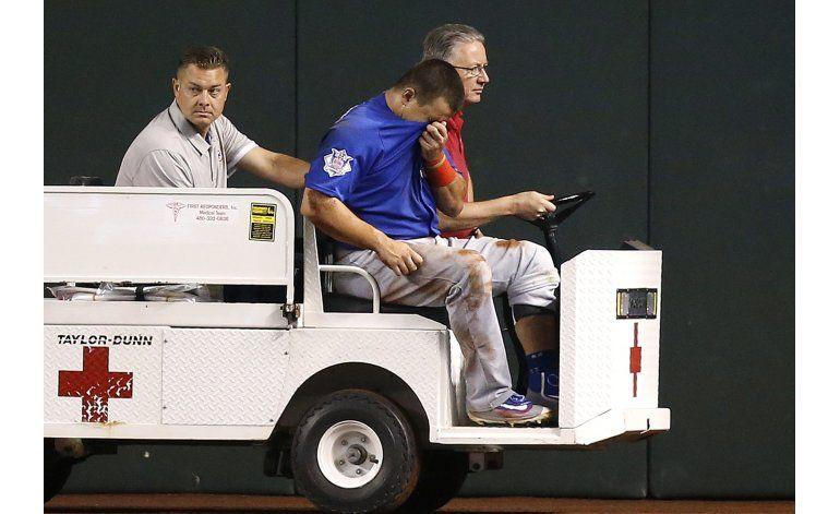 Cachorros ganan a Arizona, Schwarber se lesiona en un choque