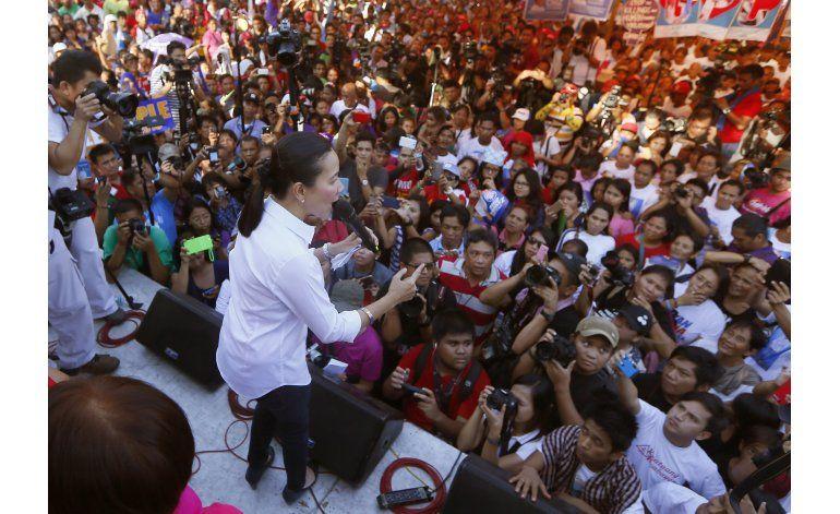 La vida de telenovela de la favorita en elecciones filipinas