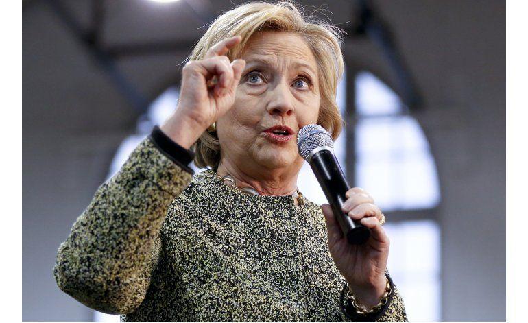 El 55% de estadounidenses tienen mala impresión de Clinton