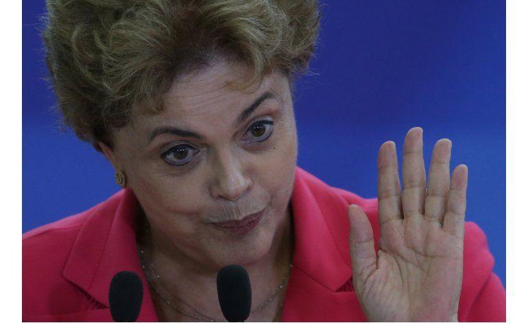 Rousseff cancela viaje a Grecia para ceremonia olímpica