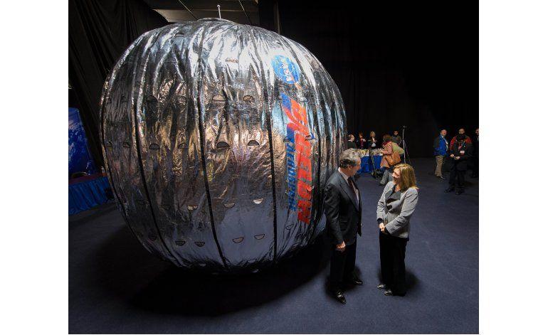 SpaceX lanza primer habitáculo inflable para astronautas
