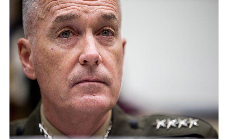 Elecciones en EEUU tienen a mandos militares en campo minado