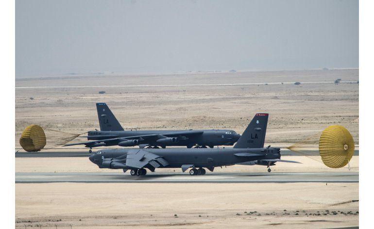 EEUU despliega bombarderos para atacar grupo Estado Islámico