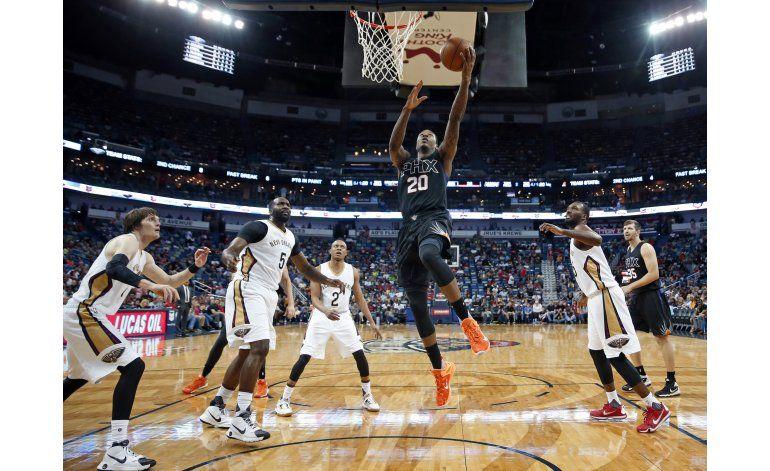 Goodwin y Teletovic conducen victoria de Suns sobre Pelicans