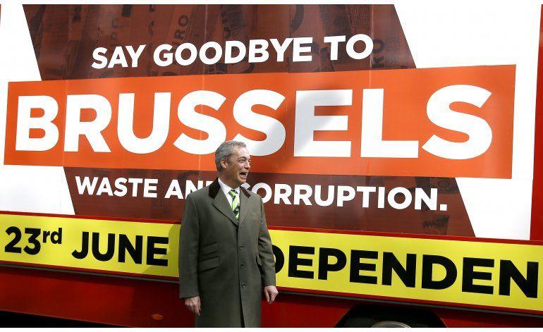 Euroescépticos británicos desconfían de la UE y entre ellos