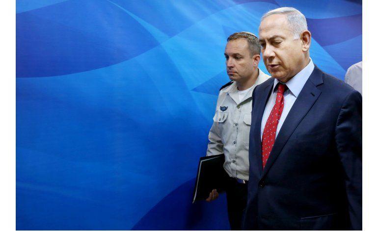Netanyahu dice que han disminuido los ataques palestinos