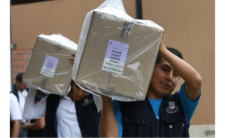 Datos electorales y generales de Perú