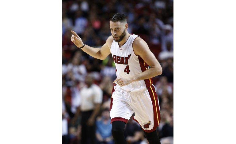 Heat disputa último partido en casa y aplasta al Magic