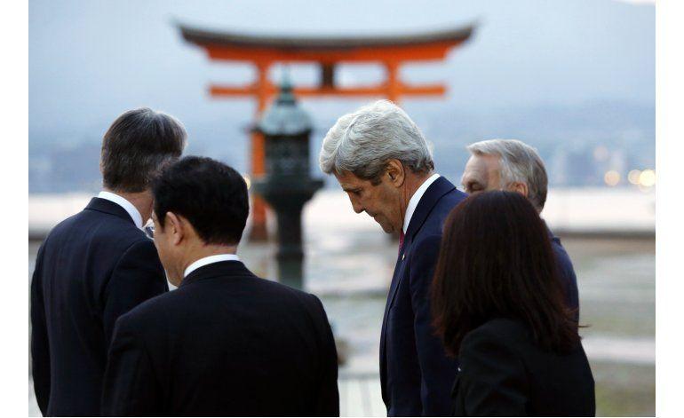 Kerry no ofrecerá disculpas por Hiroshima, dice funcionario