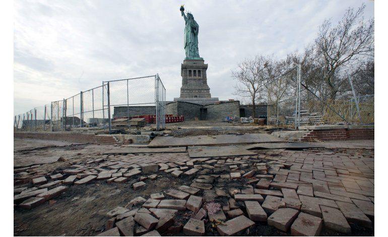 La subida del mar amenaza lugares históricos en EEUU