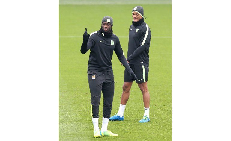 Man City no contará con Kompany contra el PSG