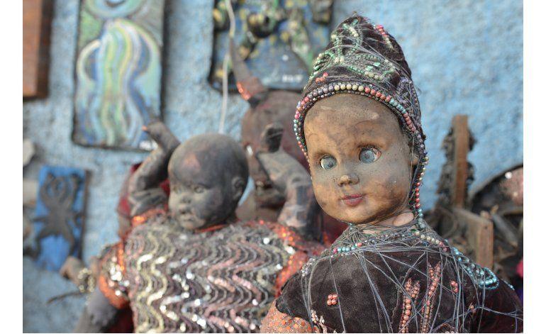 Ganan fama artistas haitianos que reciclan materiales