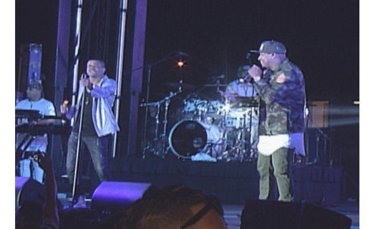 Todo un éxito el concierto de Gente de Zona en Miami