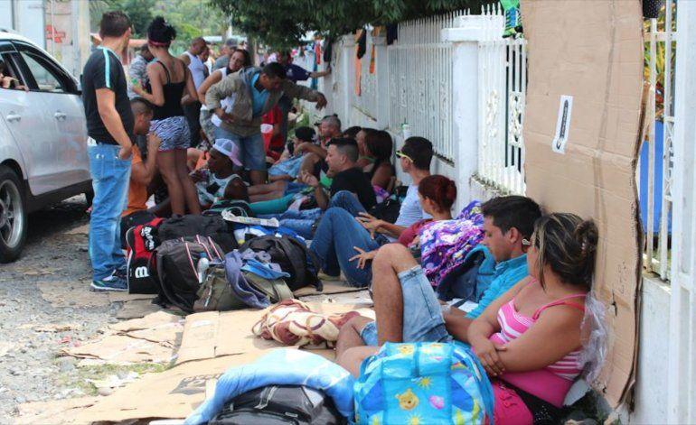 Crisis de cubanos en Panamá se agudiza