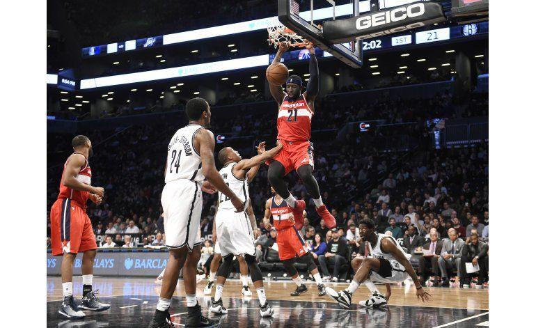 Wizards derrotan 120-111 a Nets