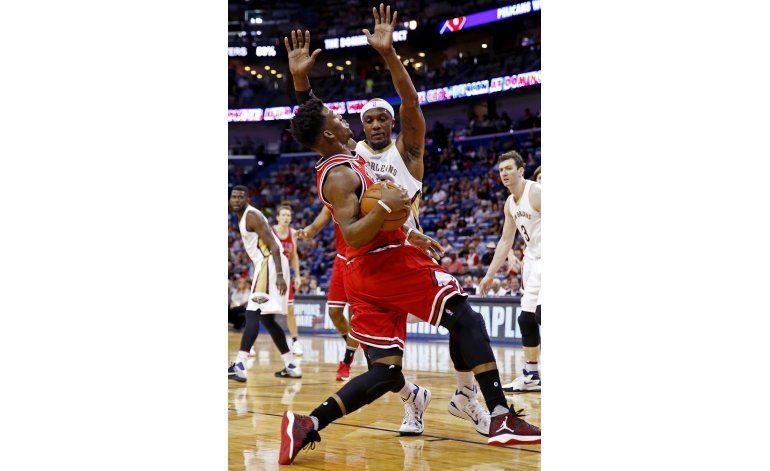 Con 23 puntos de Butler, Bulls derrotan a Pelicans
