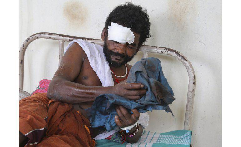 Arrestan a 7 responsables de incendio de templo en la India