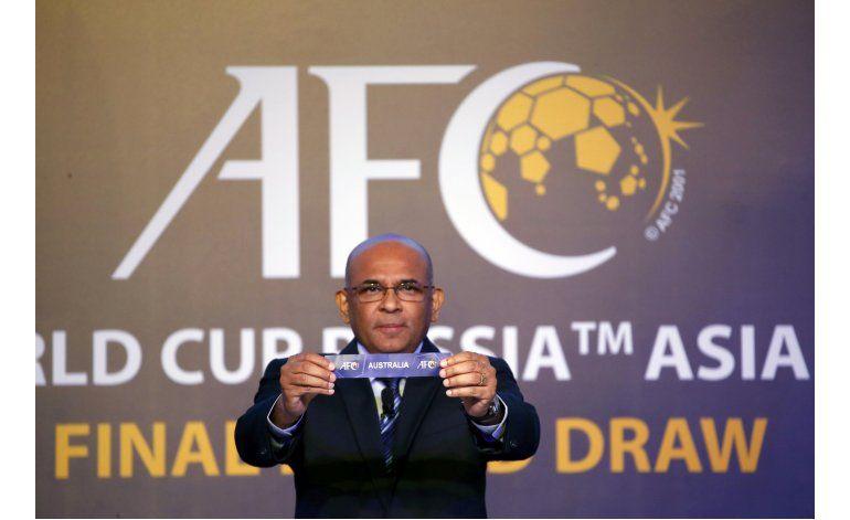 Australia y Japón en Grupo B en eliminatoria asiática