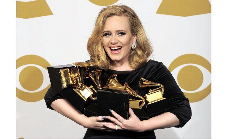 Adele con el álbum más vendido a nivel global