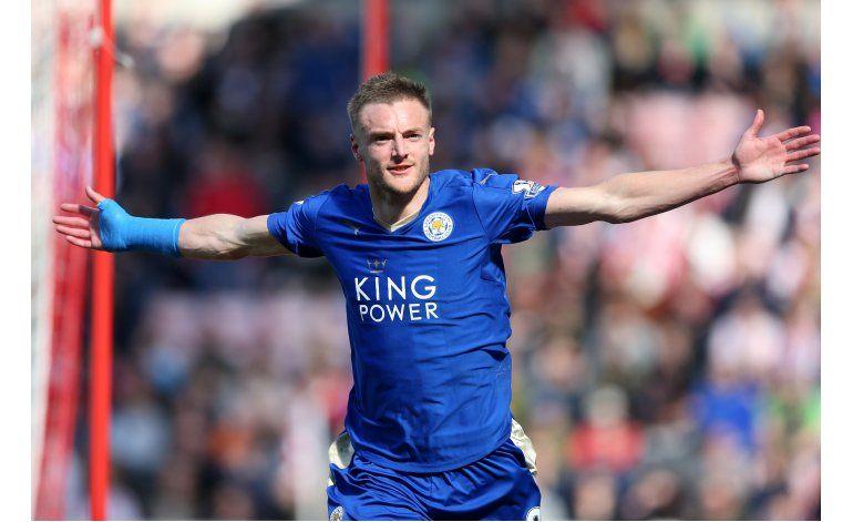 Leicester y Vardy encabezan ranking de AP