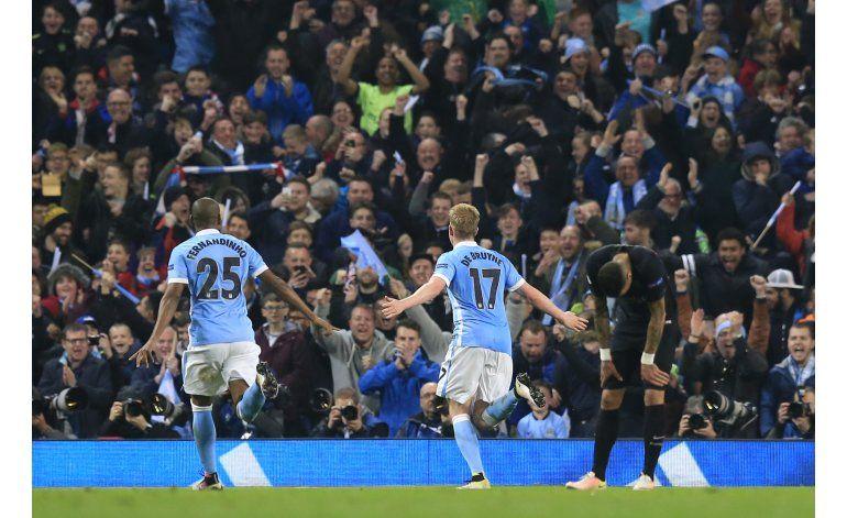 Man City tumba al PSG y está en semifinales por primera vez