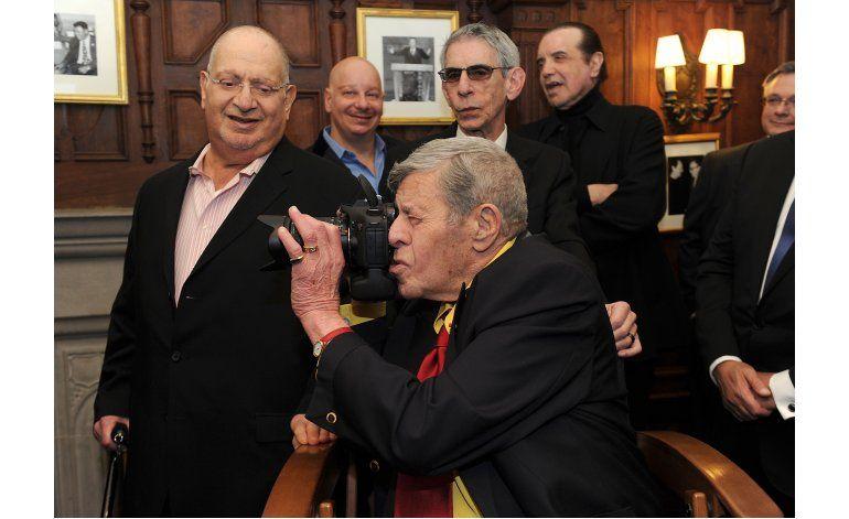 Jerry Lewis quiere vivir más años que George Burns