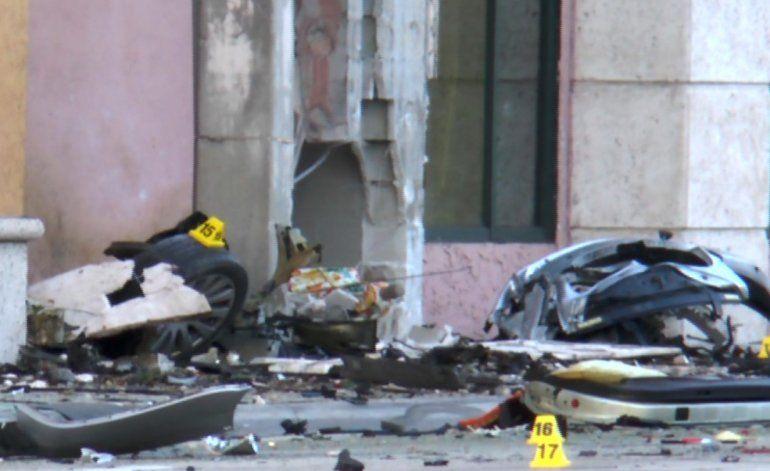 Violento accidente deja a dos heridos de gravedad en  South Miami