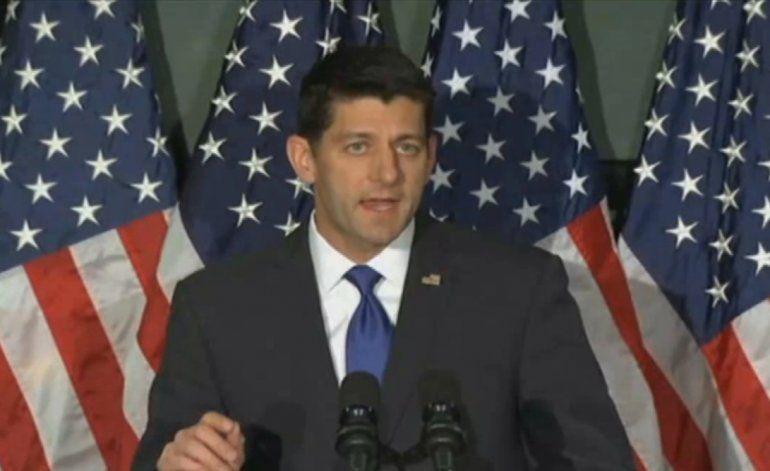 Paul Ryan reiteró que definitivamente no aceptará la nominación si su partido llegara a una convención sin nominado