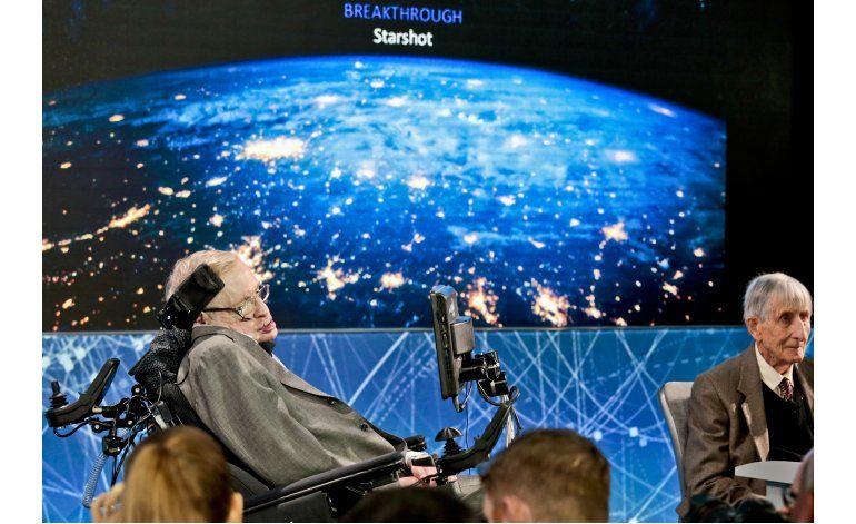 Hawking en nuevo intento por hallar vida extraterrestre