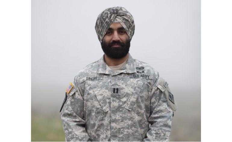 Ejército de EEUU permite a miembros sijs no rasurar su barba