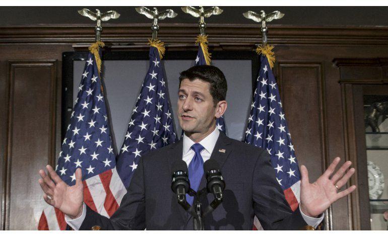 En entredicho el liderazgo de Paul Ryan