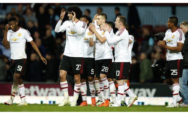Man United vence a West Ham y avanza a semis de Copa FA