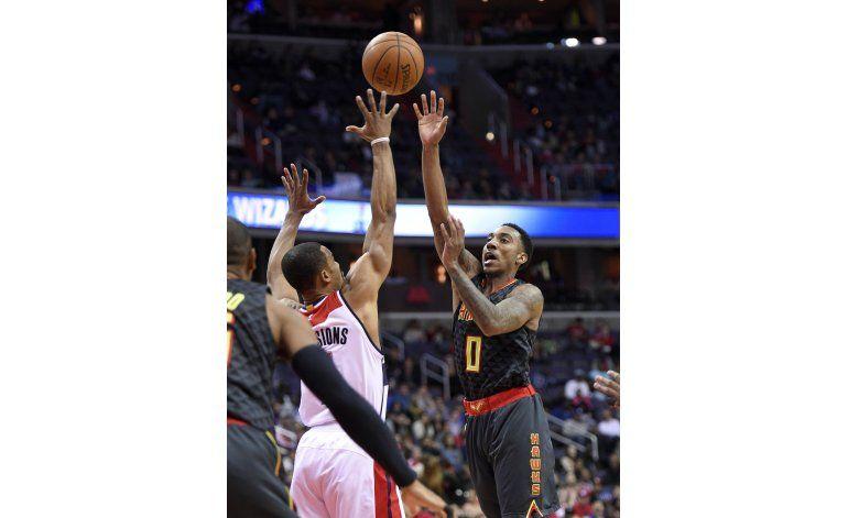 Hawks caen ante Wizards y terminan en cuarto lugar del Este