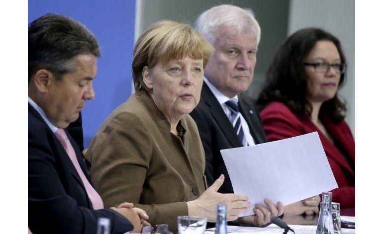 Partidos alemanes acuerdan abrir más empleos para migrantes
