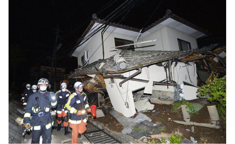Potente terremoto en sur de Japón deja 2 muertos, 45 heridos