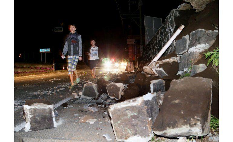 Suman 9 muertos por sismo en Japón