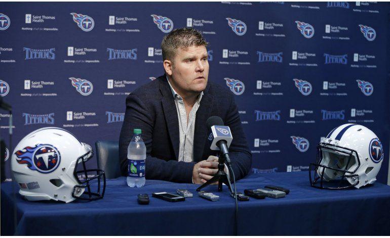 Rams adquieren 1ra selección general del draft de Titans