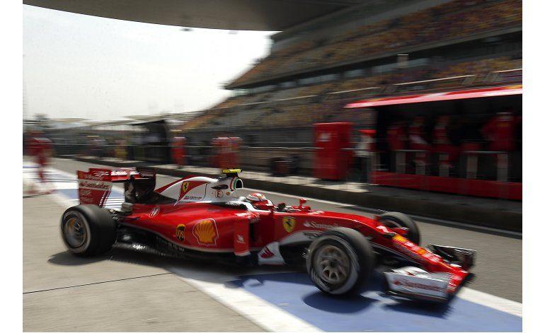 Ferrari marca el ritmo los entrenamientos del GP de China