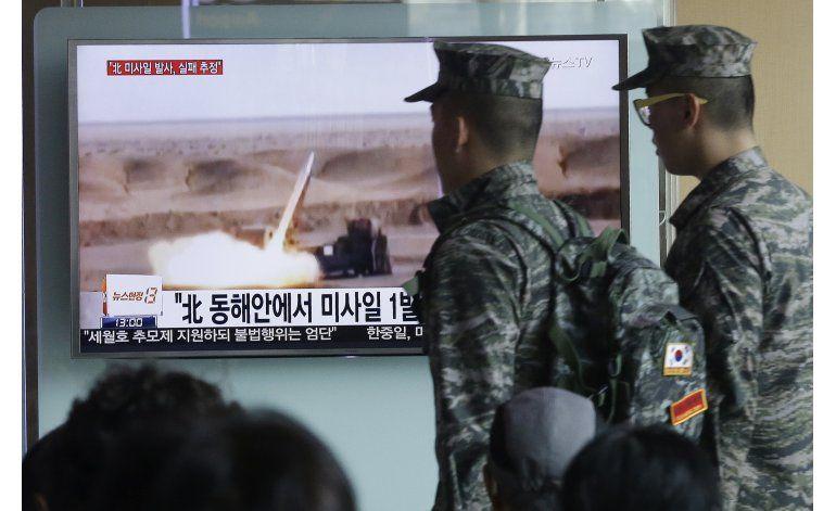 Lanzamiento de misil norcoreano aparentemente falló