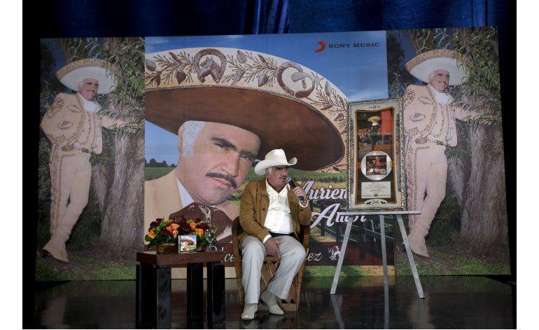 Vicente Fernández, un adiós no es para siempre